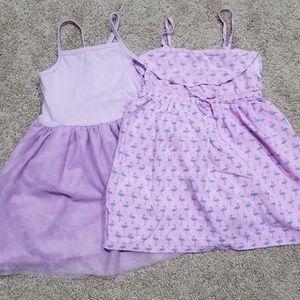 Bundle 2 4T dresses